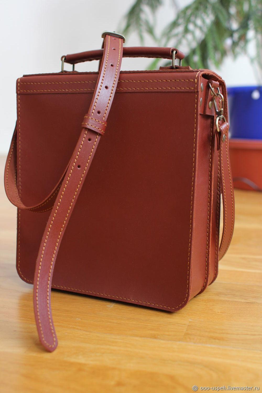 d619971271ea Павел Александрович ( Мужские сумки ручной работы. Сумка мужская кожаная из  твердой кожи барсетка.