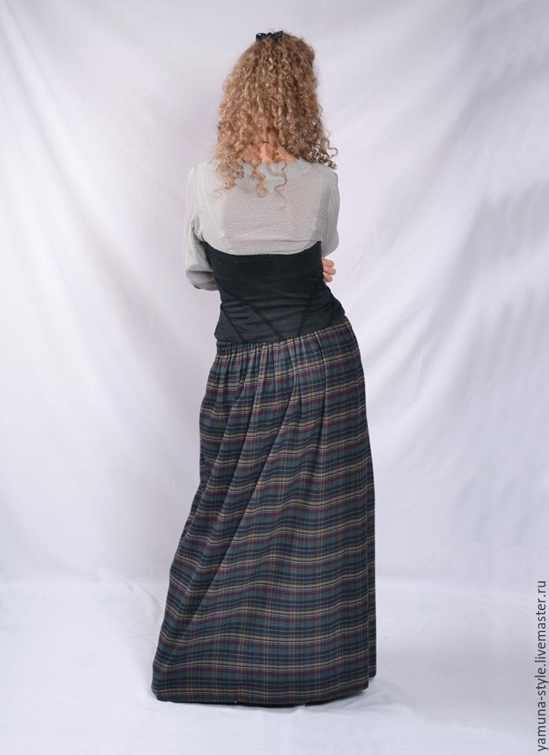 Длинная юбка сзади доставка