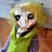 Куклы и игрушки ручной работы. Ярмарка Мастеров - ручная работа Джокер мишка тедди  . коллекционный авторский медведь. Джокер. Handmade.