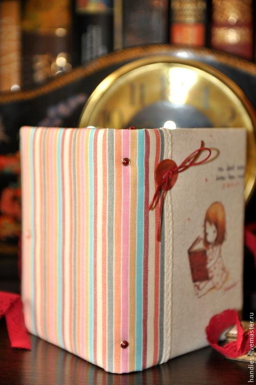 """Блокноты ручной работы. Ярмарка Мастеров - ручная работа. Купить Блокнот ручной работы """"Маленькая леди"""". Handmade. Разноцветный, блокнот"""