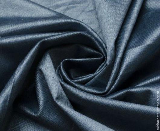 Бархат натуральный. Цвет сине-серый.  Производство Италия. Ширина ткани - 155 см. Состав ткани - 95% СО, 5%ЕА Стоимость 23 $ за погонный метр.