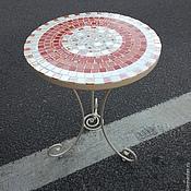 Для дома и интерьера handmade. Livemaster - original item Table with mosaic