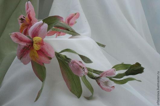 Диадемы, обручи ручной работы. Ярмарка Мастеров - ручная работа. Купить нежное настроение. Handmade. Розовый, цветы из ткани