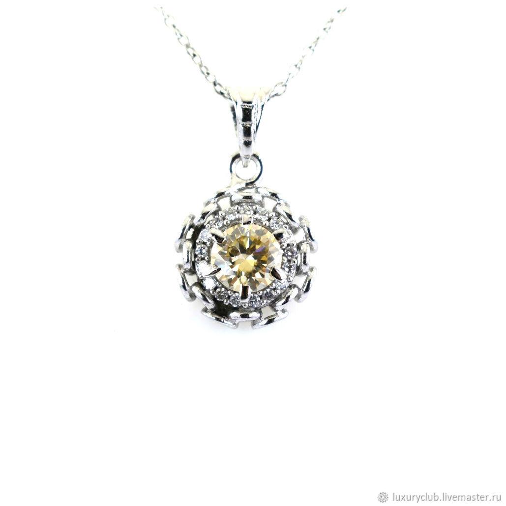 Pendant with a diamond 'Temptation' 1.10 ct buy, Pendants, Tolyatti,  Фото №1