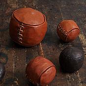 Русский стиль ручной работы. Ярмарка Мастеров - ручная работа Кожаный мяч для традиционных народных игр. Handmade.