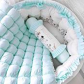 Для дома и интерьера handmade. Livemaster - original item Bumpers for the crib. Handmade.