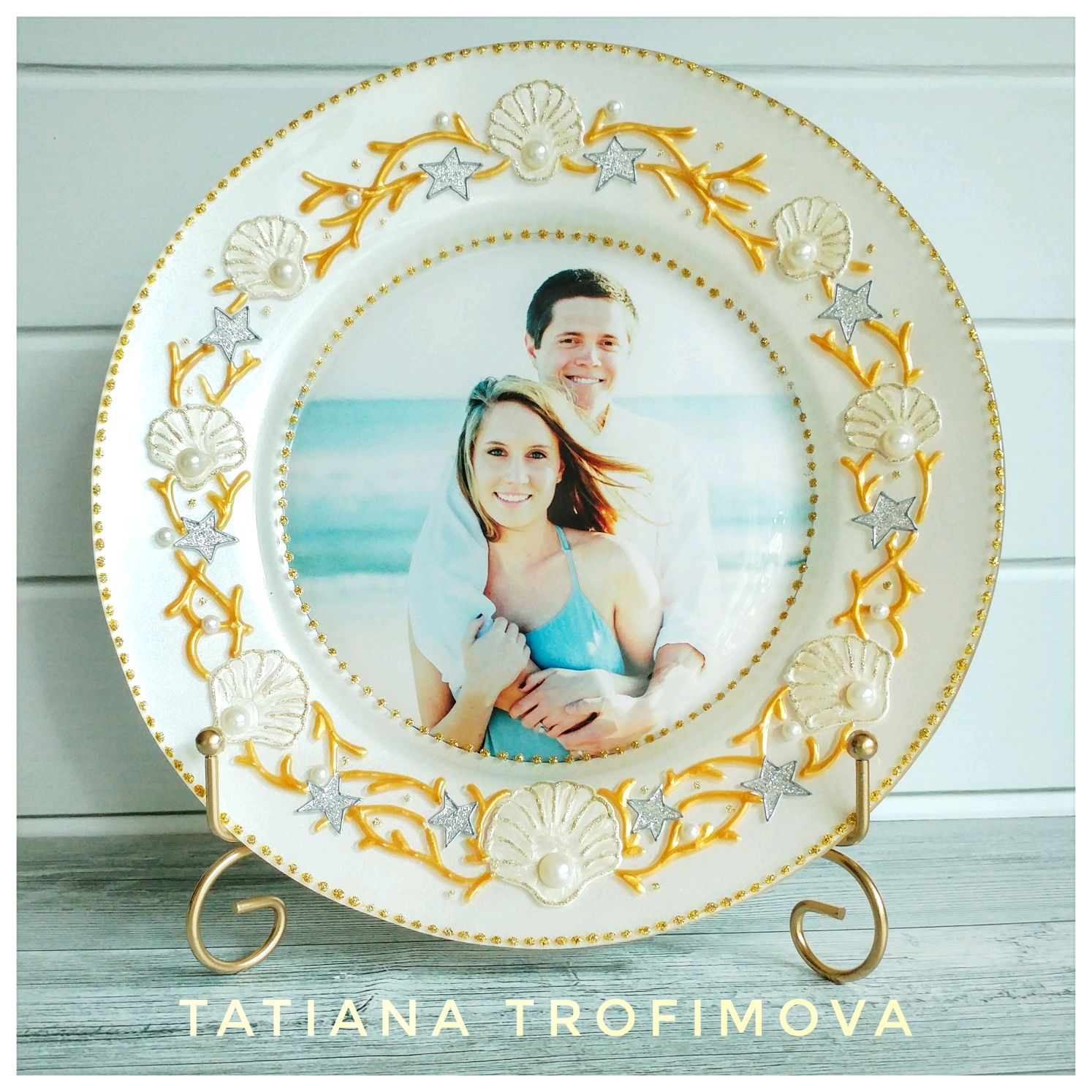 кадр подарочные тарелки с фото что