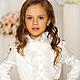 Одежда для девочек, ручной работы. ПЛАТЬЕ александра-детское-1. Marussia / Маруся. Интернет-магазин Ярмарка Мастеров. Цветочный