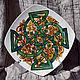 Кельтское блюдо со змеями. Блюдо. RognedaCraft. Ярмарка Мастеров.  Фото №5
