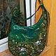 Сумка, сумка валяная, сумка из натуральной шерсти, авторская сумка, купить сумку Горбунова Оксана `Evolet`