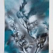 """Картины и панно ручной работы. Ярмарка Мастеров - ручная работа серия """"зимние сны 2"""". Handmade."""