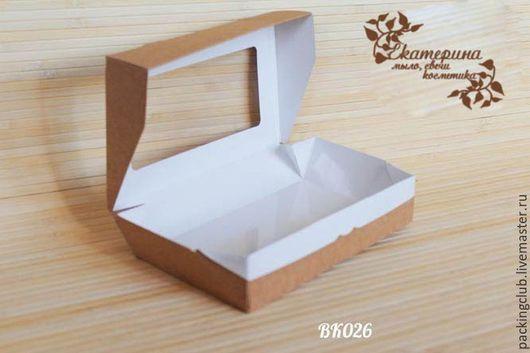 Упаковка ручной работы. Ярмарка Мастеров - ручная работа. Купить Коробочка ЭКО контейнер 200х120х45. Handmade. Серый, коробочка для подарка