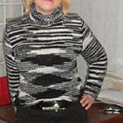 Одежда ручной работы. Ярмарка Мастеров - ручная работа свитер. Handmade.