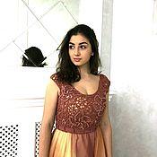 Одежда ручной работы. Ярмарка Мастеров - ручная работа Вечернее платье ручной работы. Handmade.