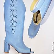 """Обувь ручной работы. Ярмарка Мастеров - ручная работа Летние сапожки """"Миро"""". Handmade."""