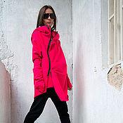 Одежда ручной работы. Ярмарка Мастеров - ручная работа Пальто из кашемира Pink Assymetric (теплое пальто, шерстяное пальто). Handmade.