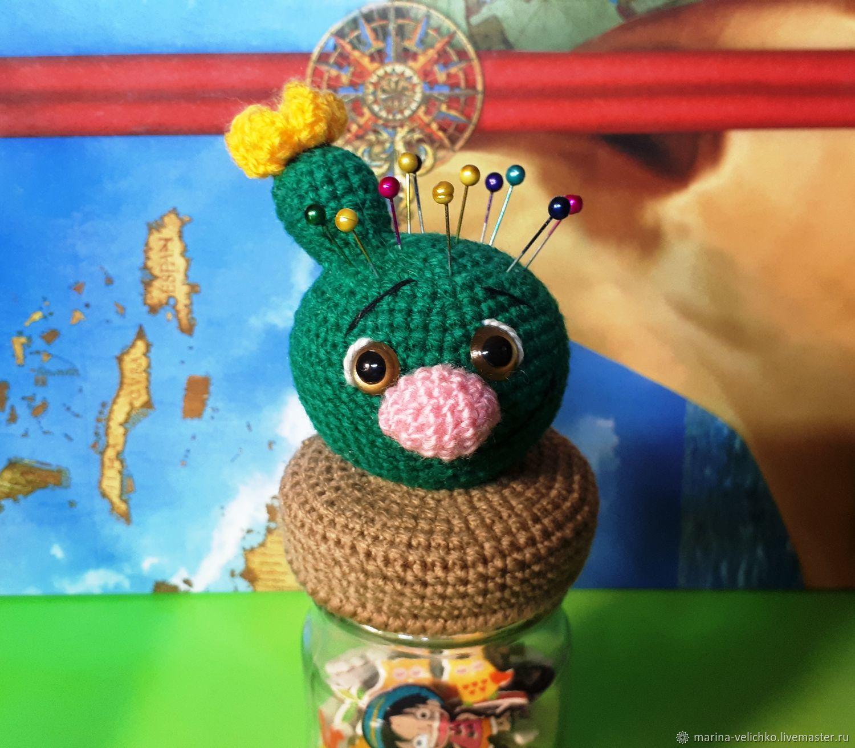 Игольница конфетница кактус, Копилки, Волгоград,  Фото №1
