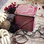 Для дома и интерьера ручной работы. Ярмарка Мастеров - ручная работа Короб для сыпычих продуктов. Handmade.