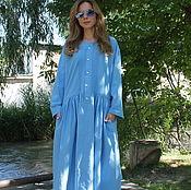 Одежда handmade. Livemaster - original item dress linen. Handmade.