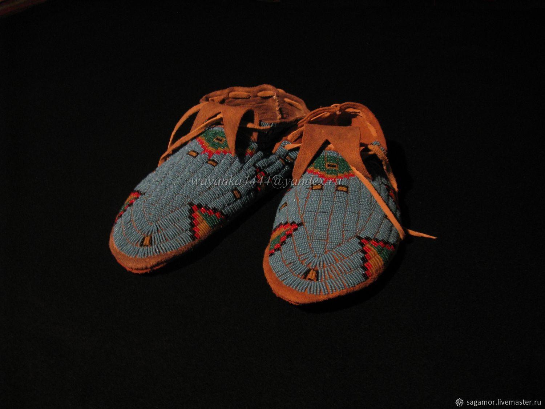 фото индейских мокасин берете свой