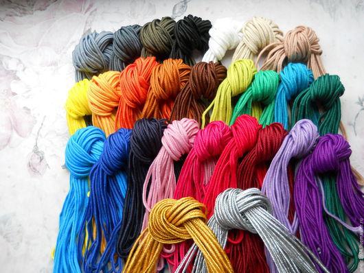 Для украшений ручной работы. Ярмарка Мастеров - ручная работа. Купить Набор украинского сутажа 27 цветов по 3м. Handmade.