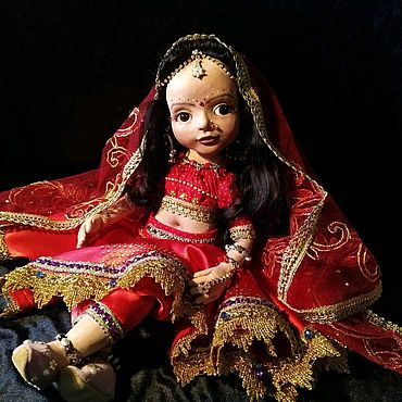 Куклы и игрушки ручной работы. Ярмарка Мастеров - ручная работа Кукла индианка авторская текстильная Мирра. Handmade.