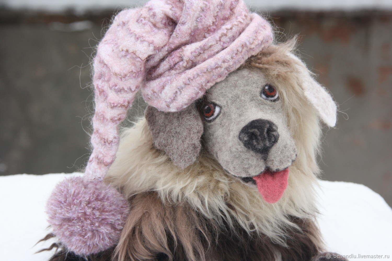 Собака. Собачка игровая из шерсти, Войлочная игрушка, Санкт-Петербург,  Фото №1