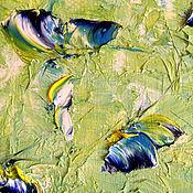 Картины и панно handmade. Livemaster - original item Oil painting Fluttering. Handmade.