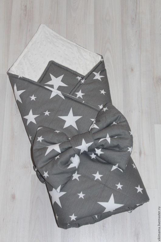 Для новорожденных, ручной работы. Ярмарка Мастеров - ручная работа. Купить Конверт на выписку плед  детский одеяло для новорожденныхЦЕНА ПО АКЦИИ. Handmade.