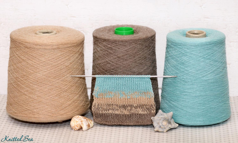 Катушки ниток для вязания 21