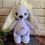 Мягкие игрушки ручной работы. Ярмарка Мастеров - ручная работа Игрушки: Плюшевый заяц. Handmade.