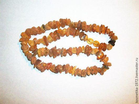 Колье, бусы ручной работы. Ярмарка Мастеров - ручная работа. Купить Бусы янтарь лечебные на шею ,бусы из натуральных камней янтарь. Handmade.