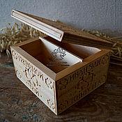 Для дома и интерьера handmade. Livemaster - original item Box for tea. Handmade.