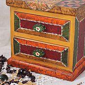 Для дома и интерьера ручной работы. Ярмарка Мастеров - ручная работа Мини -комод для украшений. Handmade.