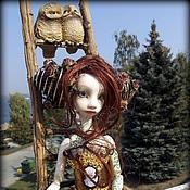 Куклы и игрушки ручной работы. Ярмарка Мастеров - ручная работа Шарнирная кукла Дриада. Handmade.