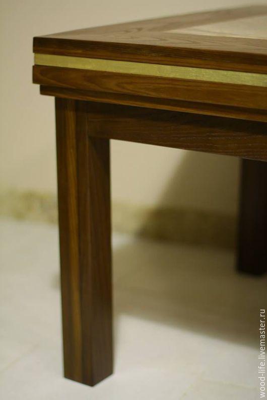 Мебель ручной работы. Ярмарка Мастеров - ручная работа. Купить кофейный стол. Handmade. Кофейный столик, позолота, столик из дерева