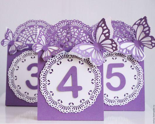 Карточка-номер стола рассадки гостей на свадьбе