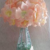 """Цветы и флористика ручной работы. Ярмарка Мастеров - ручная работа Светильник - ночник """"Нежность орхидей"""". Handmade."""