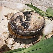 """Для дома и интерьера ручной работы. Ярмарка Мастеров - ручная работа Бонбоньерка """"Мой старый мишка"""". Handmade."""