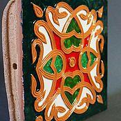 Для дома и интерьера ручной работы. Ярмарка Мастеров - ручная работа Пряничная сказка, изразец. Handmade.