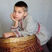 Русский стиль handmade. Livemaster - original item Russian costume for boy 2. Handmade.