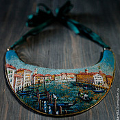 """Украшения ручной работы. Ярмарка Мастеров - ручная работа Гривна """"Венеция"""". Handmade."""