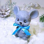 Год Крысы ручной работы. Ярмарка Мастеров - ручная работа Сувенирное мыло Мышонок Маленький. Handmade.