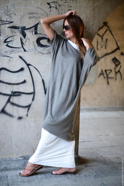 Long floor-length dress. Summer dress. DESIGNER DRESS. Fair Masters.