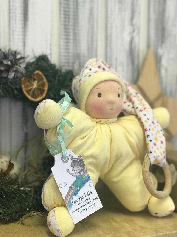 Кукла-бабочка в вальдорфском стиле, Вальдорфские куклы и звери, Сызрань,  Фото №1