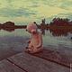 Мишки Тедди ручной работы. Одинокий ангел. Виктория Макарова (skazkalab). Ярмарка Мастеров. Коллекционный мишка, опилки