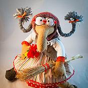 """Мягкие игрушки ручной работы. Ярмарка Мастеров - ручная работа Баба-Яга """" Дульсинея"""". Handmade."""