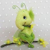 Куклы и игрушки ручной работы. Ярмарка Мастеров - ручная работа Кракозябрик зелененький. Handmade.