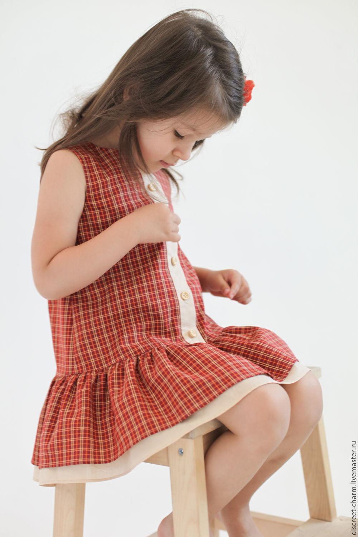 Платье оранжевое купить девочка