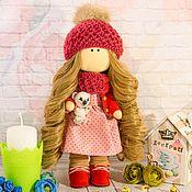 Кукла текстильная Оливия.